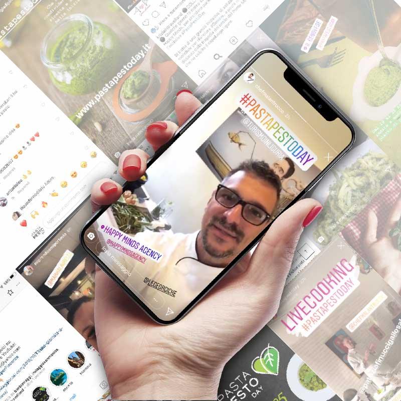 Influencer-Marketing-pasta-pesto-day-1-orz