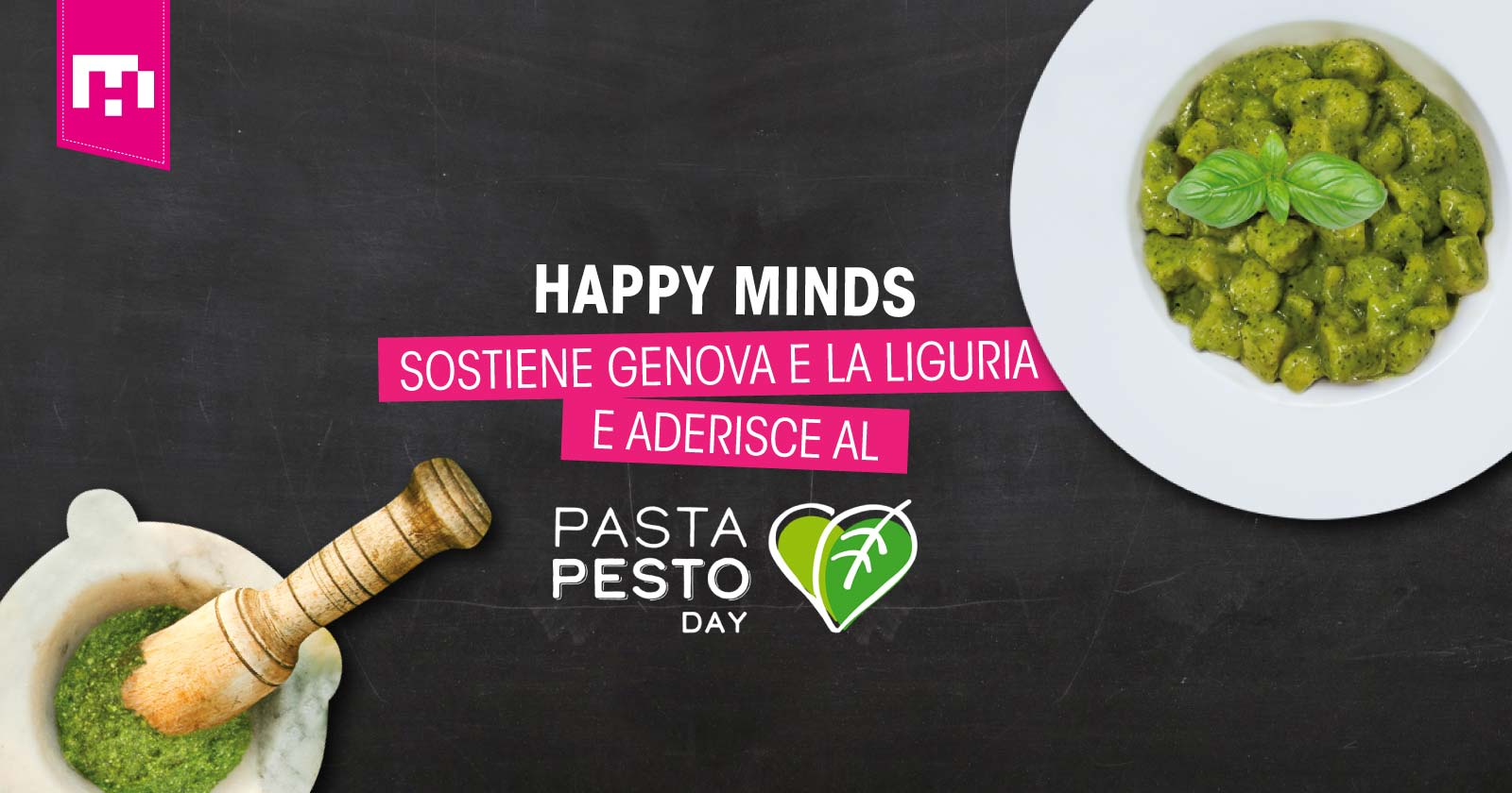 condivisione-pasta-pesto-day-happy-minds