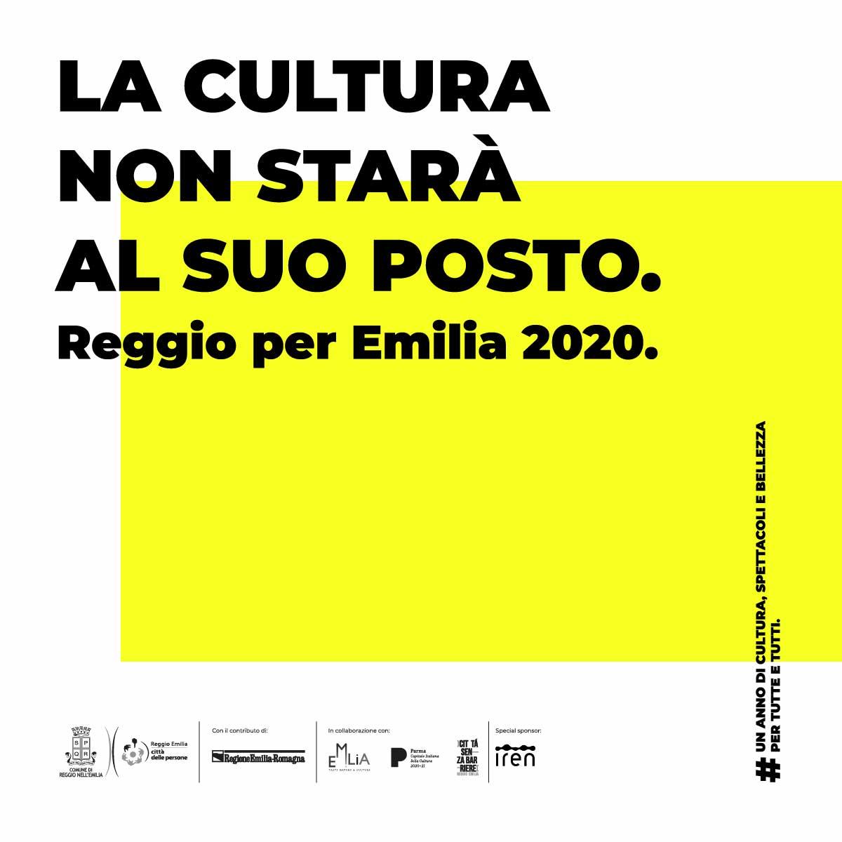 Reggio per EMILIA 2020 Happy Minds video-anteprima