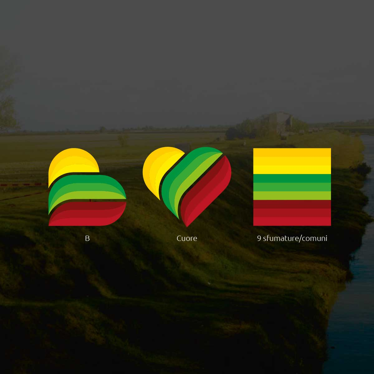 bassa romagna mia portale turismo branding logo 2
