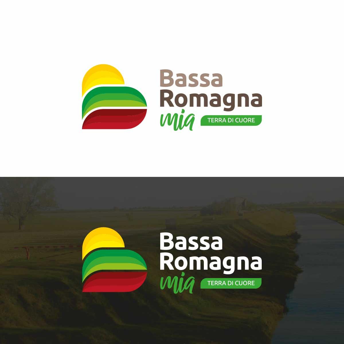 bassa romagna mia portale turismo branding logo 3