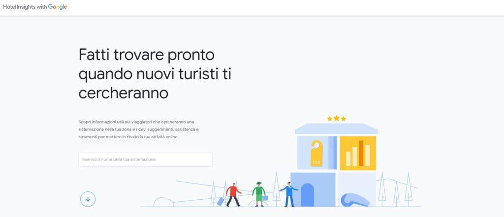 Google hotel insights
