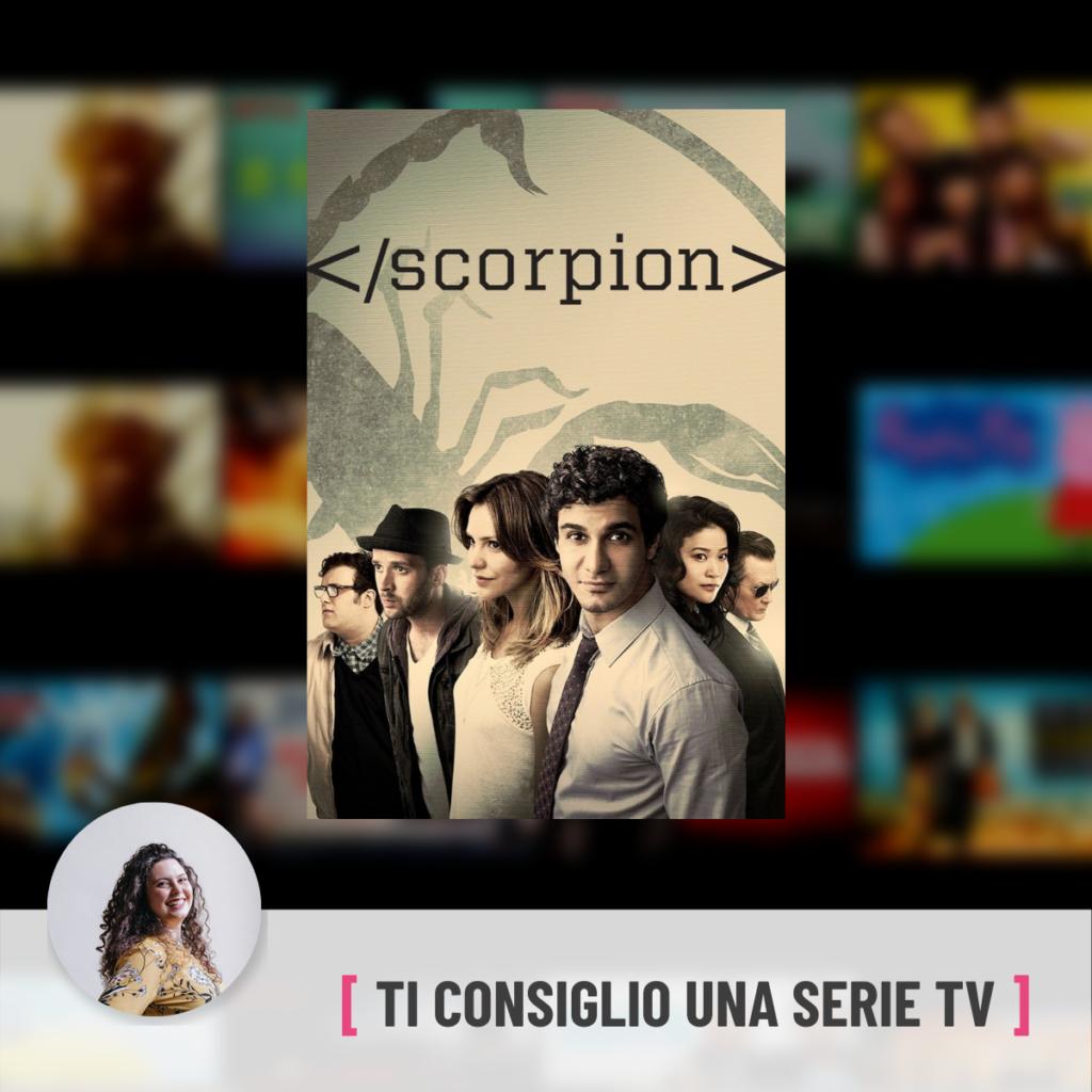 scorpion - laura spanu